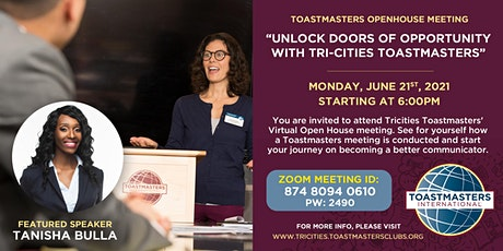 Toastmasters Open-House Meeting tickets