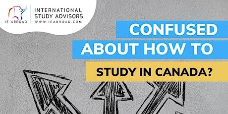 Study in Canada - Nigeria tickets