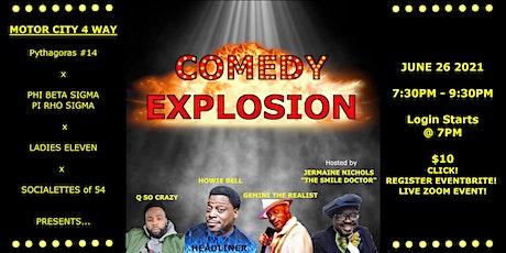 Comedy Explosion biglietti