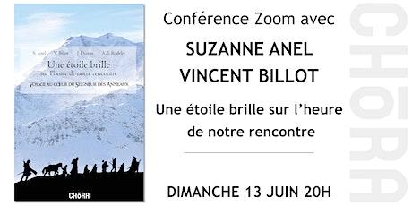 Conférence avec Suzanne Anel et Vincent Billot - Une étoile brille billets