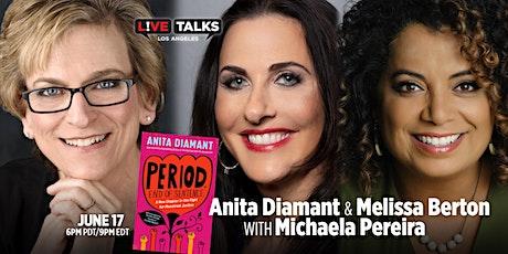 Anita Diamant & Melissa Berton in conversation with Michaela Pereira tickets
