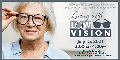Living with Low Vision tickets