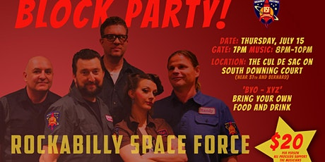 Rockabilly Space Force Block Party tickets