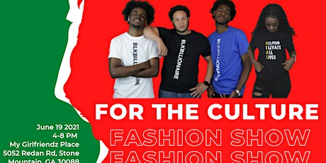 For the Culture Fashion Show tickets
