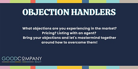 Objection Handlers tickets