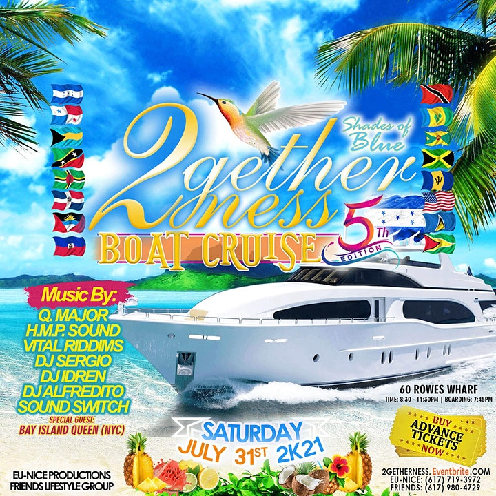 5th Annual 2Getherness Boat Cruise image