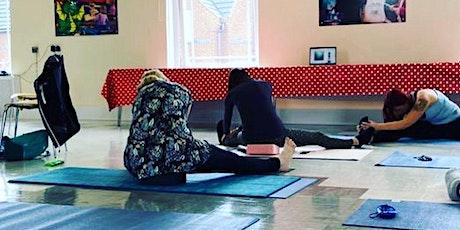 1 hour yoga & meditation class billets