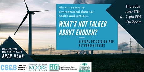 EEW Open Hour: What's Not Talked About Enough? tickets