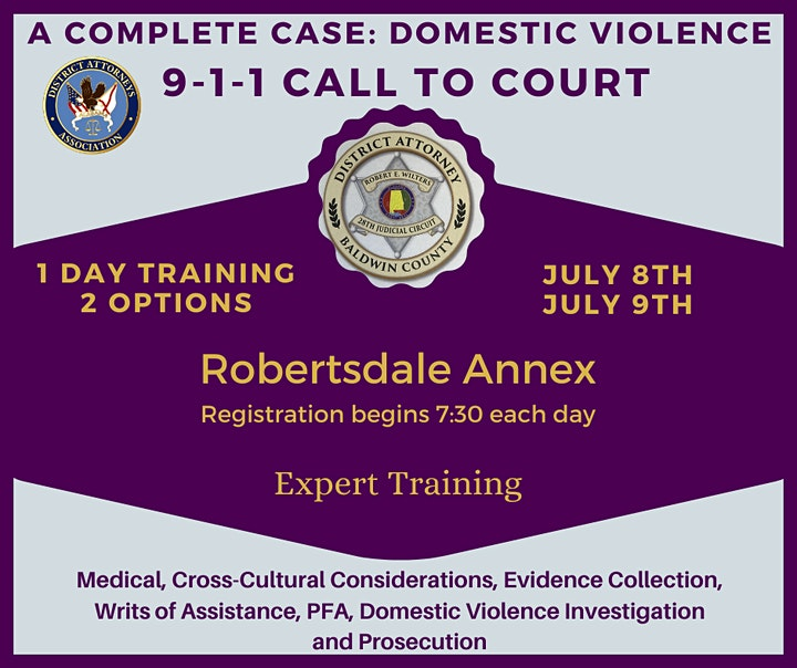 A Complete Case: Domestic Violence and Co-Occurring Crimes Thurs. 7.08.21 image