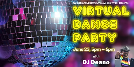 Pride Month Virtual Dance Party! tickets