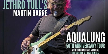 SHOW POSTPONED to 3/30/2022: Martin Barre Performs Classic Jethro Tull tickets