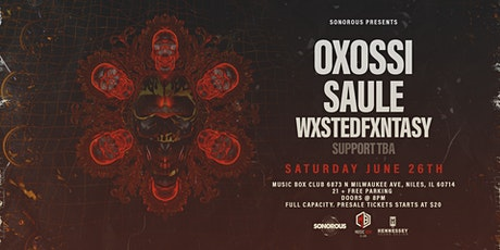 Sonorous Presents: Oxóssi, Saule & more on Hennessy Sound System tickets