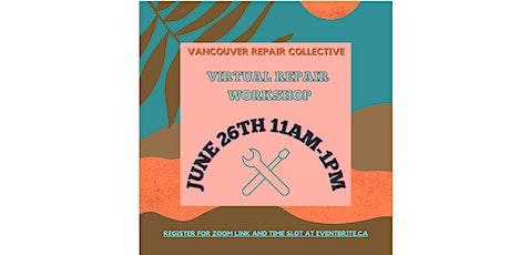 June Virtual Repair Workshop tickets