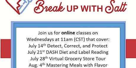 Break Up With Salt Online Classes Tickets