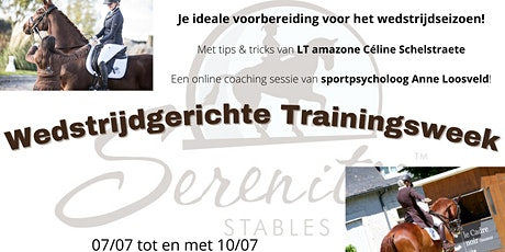 Wedstrijdgerichte Trainingsweek tickets