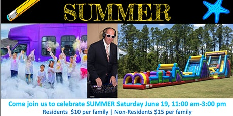 Schools Out for Summer Family Fun Day! tickets
