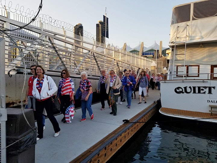 4th of July Fireworks Dinner Cruise on San Diego Bay (Bus A) image