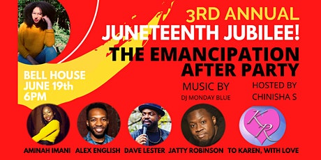 3rd Annual Juneteenth Jubilee: The Emancipation After Party tickets