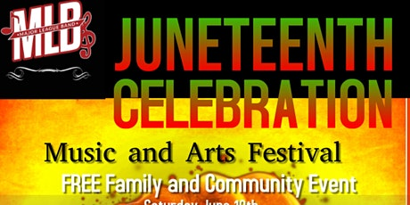Juneteenth Celebration Music and Arts Festival tickets