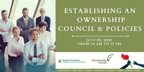 Establishing an Ownership Council and Policies tickets