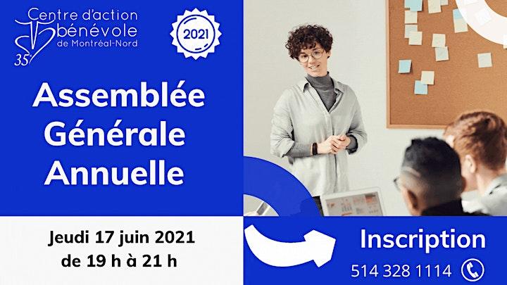 Image de Assemblée générale annuelle du CAB Montréal-Nord