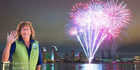 4th of July Fireworks Dinner Cruise on San Diego Bay (Bus A) tickets