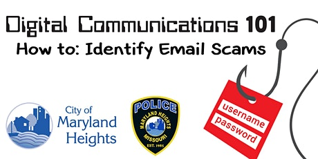 Digital Communications 101 - How to: Identify Email Scams tickets