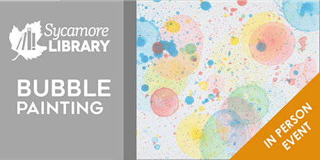 Toddler & Preschool Bubble Painting tickets