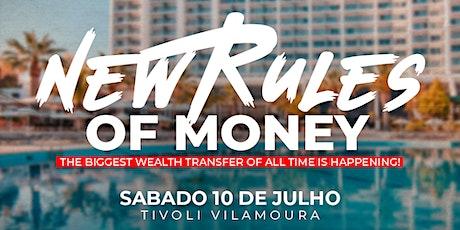 New Rules of Money bilhetes