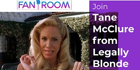 FanRoom Live hosted by Tane McClure from Legally Blonde! tickets