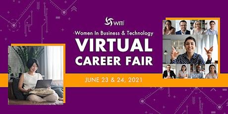 Women In Business & Technology Virtual Career Fair tickets
