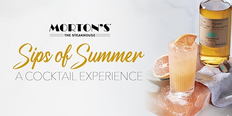 Morton's Boston Seaport - Sips of Summer: A Cocktail Experience tickets