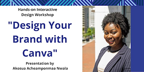 Design Your Brand With Canva tickets