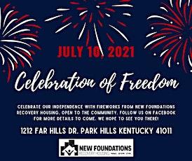 Celebration of Freedom - New Foundations Fireworks Community Gathering tickets