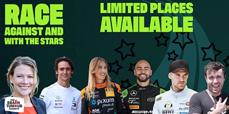 Your team of 4 + celeb driver. The MotorMouth Celebrity Charity Kart Race tickets