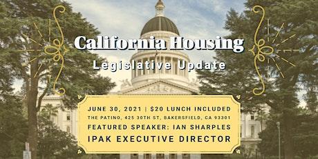Lunch & Learn - California Housing Legislative Update tickets