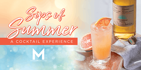Morton's Grille - Sips of Summer: A Cocktail Experience tickets