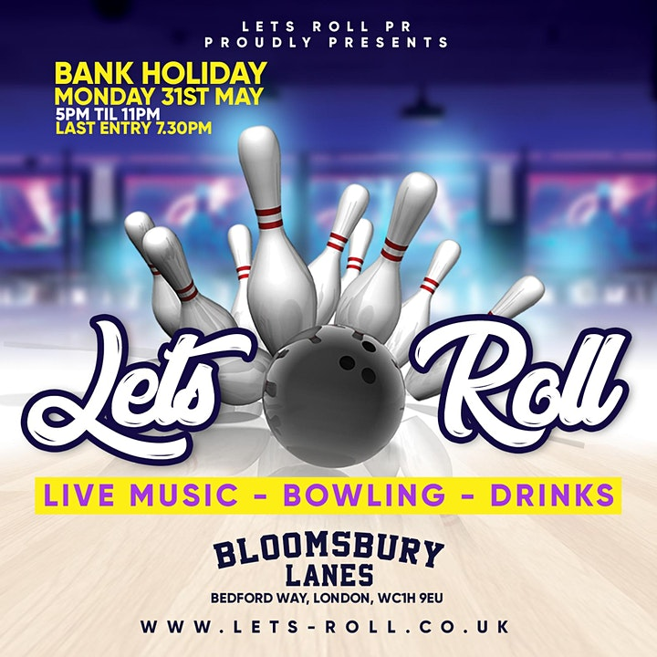 LETS ROLL - The Bank Holiday Vibe image