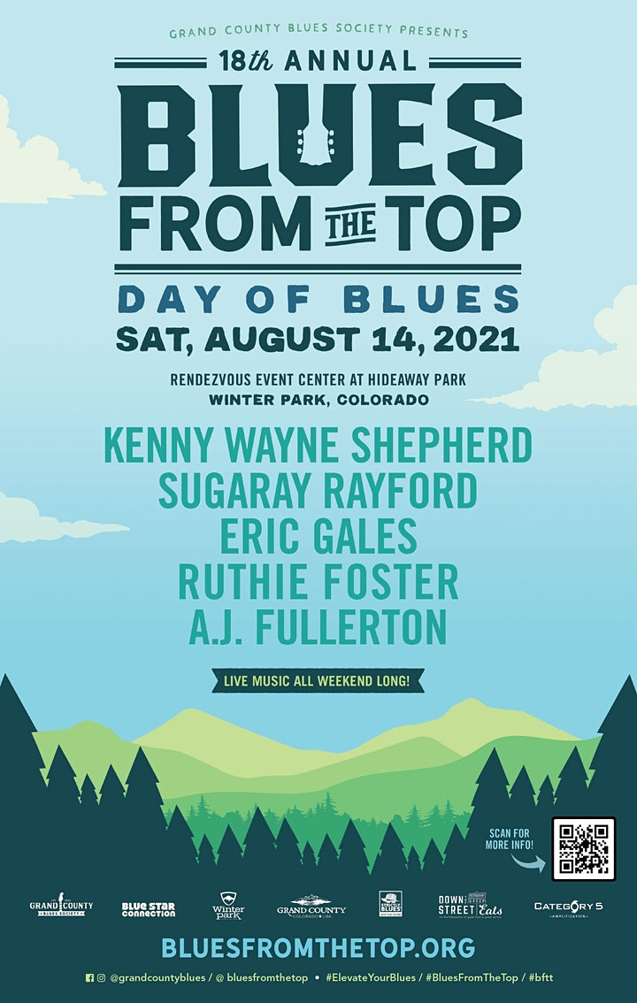 18th Annual Blues From The Top Music Festival image
