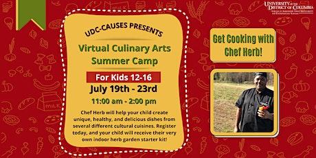 UDC-CAUSES Virtual Culinary Arts Summer Camp tickets