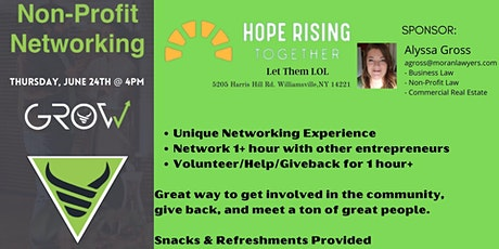 GROW Non-Profit Networking - Let Them LOL tickets