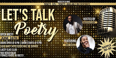 Let's Talk Poetry tickets