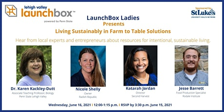 Living Sustainably in Farm to Table Solutions tickets