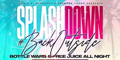 Splashdown #BackOutside  tickets