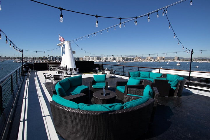 ROCK THE YACHT LOS ANGELES 2021 LABOR DAY WEEKEND  ALL WHITE YACHT PARTY image