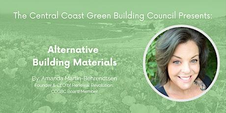Green Building Speaker Series: Alternative Building Materials tickets