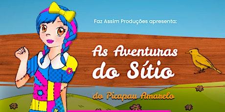 Desconto: As Aventuras do Sítio do Picapau Amarelo no Teatro West Plaza ingressos
