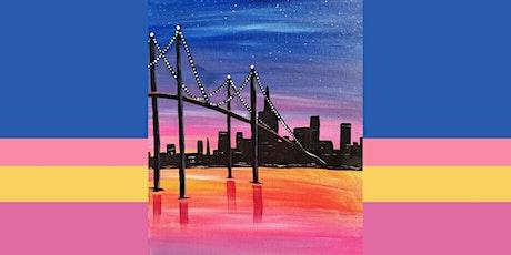 60min Paint A Landscape Scenery - Bridge @1PM  (Ages 6+) tickets