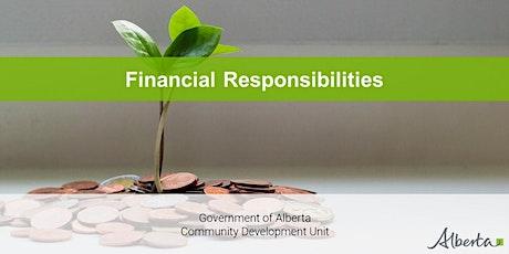 Board Development Program - Financial Responsibilities Webinar tickets