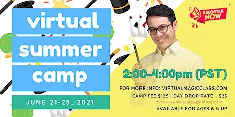 Virtual Magic Camp with Nathaniel Segal! tickets